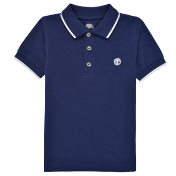 material Boy short-sleeved polo shirts Timberland DRESS Marine