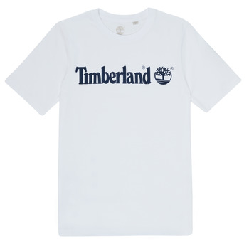 material Boy short-sleeved t-shirts Timberland FONTANA White