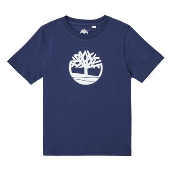 material Boy short-sleeved t-shirts Timberland TRISTA Blue