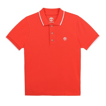 material Boy short-sleeved polo shirts Timberland HOLLI Red