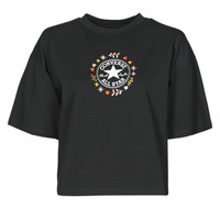 material Women short-sleeved t-shirts Converse CHUCK WOMENS WANDER TANK Black