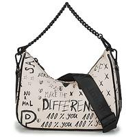 Bags Women Shoulder bags Desigual BOLS_HANSMADE MEDLEY White