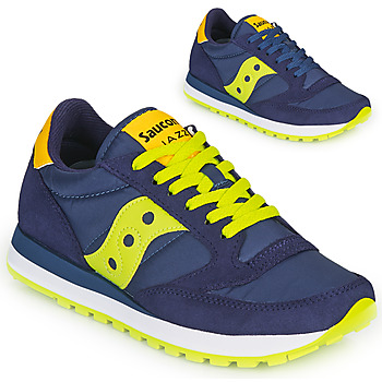 Shoes Low top trainers Saucony JAZZ ORIGINAL Blue / Yellow
