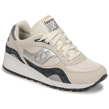 Shoes Low top trainers Saucony SHADOW 6000 Beige / Silver