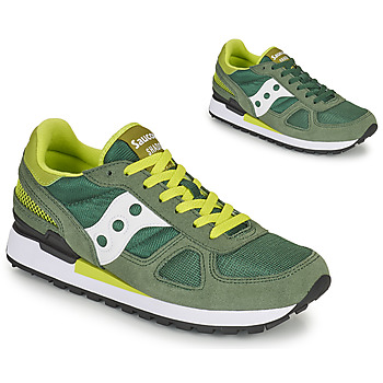 Shoes Men Low top trainers Saucony SHADOW ORIGINAL Green / White / Yellow