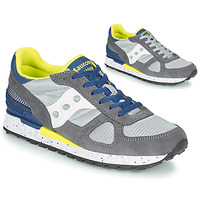 Shoes Men Low top trainers Saucony SHADOW ORIGINAL Grey / Blue / Yellow