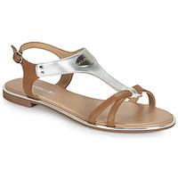 Shoes Women Sandals Adige ANNABELLE V4 SPECCHIO SILVER Silver