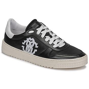 Shoes Men Low top trainers Roberto Cavalli GEL Black