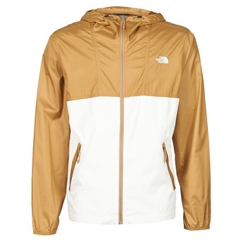 material Men Macs The North Face CYCLONE JACKET UTILITY Brown / White