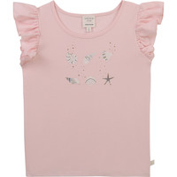 material Girl short-sleeved t-shirts Carrément Beau Y15378-44L Pink