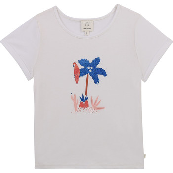 material Girl short-sleeved t-shirts Carrément Beau Y15383-10B White