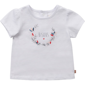 material Girl short-sleeved t-shirts Carrément Beau Y95270-10B White