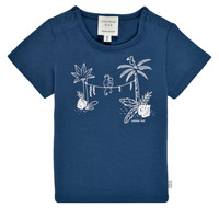 material Boy short-sleeved t-shirts Carrément Beau Y95274-827 Marine