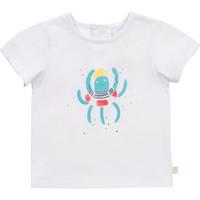 material Boy short-sleeved t-shirts Carrément Beau Y95275-10B White