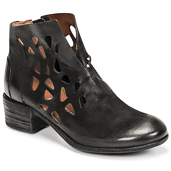 Shoes Women Mid boots Airstep / A.S.98 GIVE PERF Black