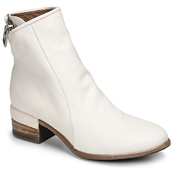 Shoes Women Ankle boots Airstep / A.S.98 GIVE ZIP White