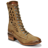 Shoes Women Mid boots Airstep / A.S.98 GIVE HIGH Kaki