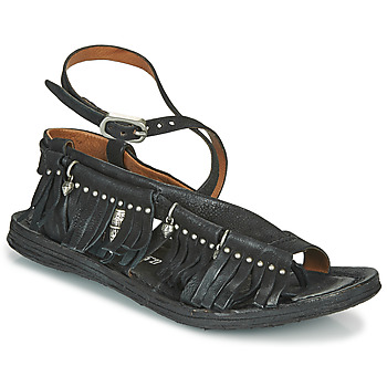 Shoes Women Sandals Airstep / A.S.98 RAMOS FRANGE Black