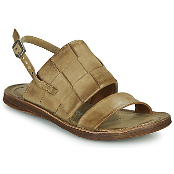Shoes Women Sandals Airstep / A.S.98 RAMOS TRESSE Kaki