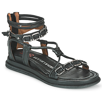 Shoes Women Sandals Airstep / A.S.98 POLA SQUARE Black
