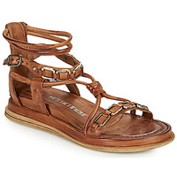 Shoes Women Sandals Airstep / A.S.98 POLA SQUARE Camel
