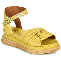 Shoes Women Sandals Airstep / A.S.98 LAGOS NODE Yellow