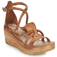 Shoes Women Sandals Airstep / A.S.98 NOA STRAP Camel