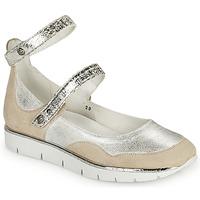 Shoes Women Sandals Regard JUMEL White / Silver