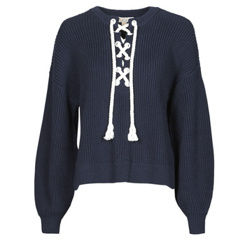 material Women jumpers MICHAEL Michael Kors EASY ROPE LACE SWTR Marine