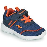 Shoes Boy Low top trainers Kangaroos KY-CHUMMY EV Blue / Orange