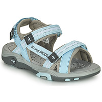 Shoes Children Sandals Kangaroos K-LENI Blue / Grey