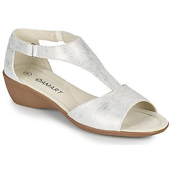 Shoes Women Sandals Damart 49019 Silver