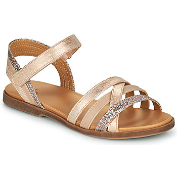 Shoes Girl Sandals Bullboxer ALM003F1S-PNGD Brown