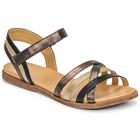 Shoes Girl Sandals Bullboxer ALM003F1S-ROSE Black