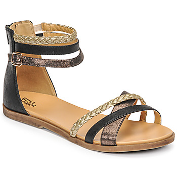 Shoes Girl Sandals Bullboxer ALM013F1S-ROSE Black