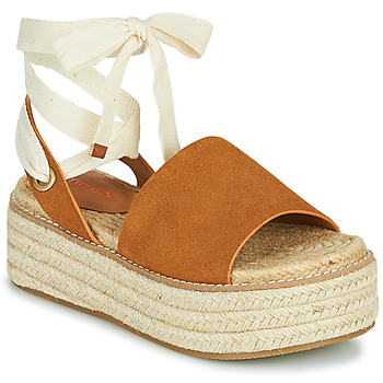 Shoes Women Sandals Emmshu SEARA Cognac
