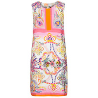 material Women Short Dresses Derhy SEOUL Pink / Multicolour