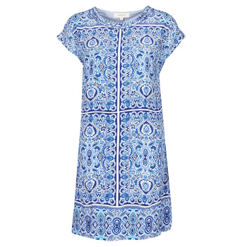 material Women Short Dresses Derhy STRESS Blue