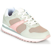 Shoes Women Low top trainers Esprit AMBRO Green / Pink