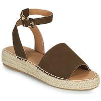 Shoes Women Sandals Esprit CLARA Brown