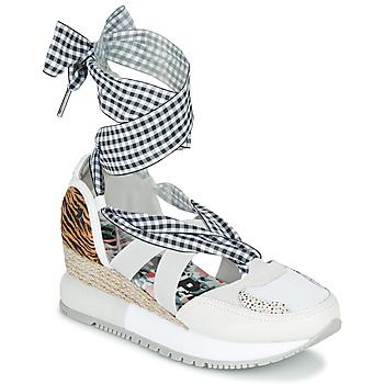 Shoes Women Sandals Gioseppo JOLIET White / Multicolour