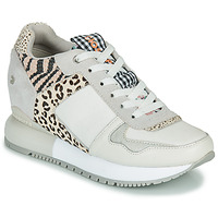 Shoes Women Low top trainers Gioseppo OVERLAND White / Black
