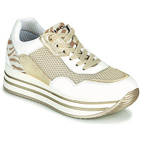 Shoes Women Low top trainers IgI&CO ALMINTA White / Gold