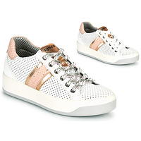 Shoes Women Low top trainers IgI&CO SALLIA White / Pink