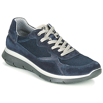 Shoes Men Low top trainers IgI&CO MOLLIE Marine