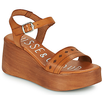 Shoes Women Sandals Musse & Cloud MILI Cognac