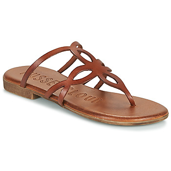 Shoes Women Flip flops Musse & Cloud ESTRELLA Cognac