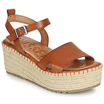 Shoes Women Sandals Musse & Cloud CUCA Cognac