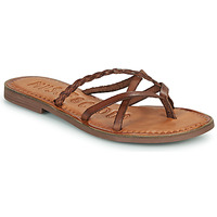 Shoes Women Flip flops Musse & Cloud KEOP Brown