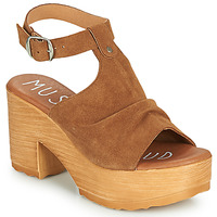 Shoes Women Sandals Musse & Cloud FOXY Cognac